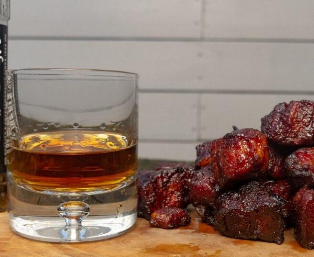 whisky pork belly burnt ends